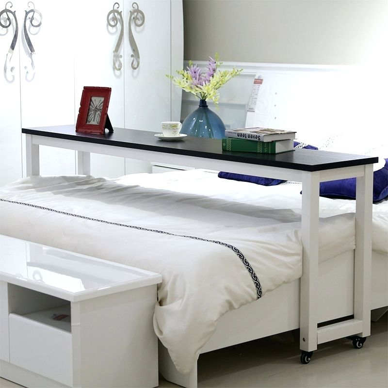 desk malm over bed littlemiss table