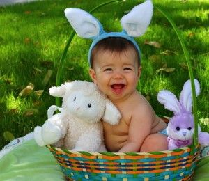 10 cute babies with easter bunny ears and baskets easter bunny 10 cute babies with easter bunny ears and baskets negle Choice Image