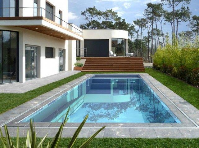 Une piscine pour tous les styles   Piscine inox, Inox et Piscines