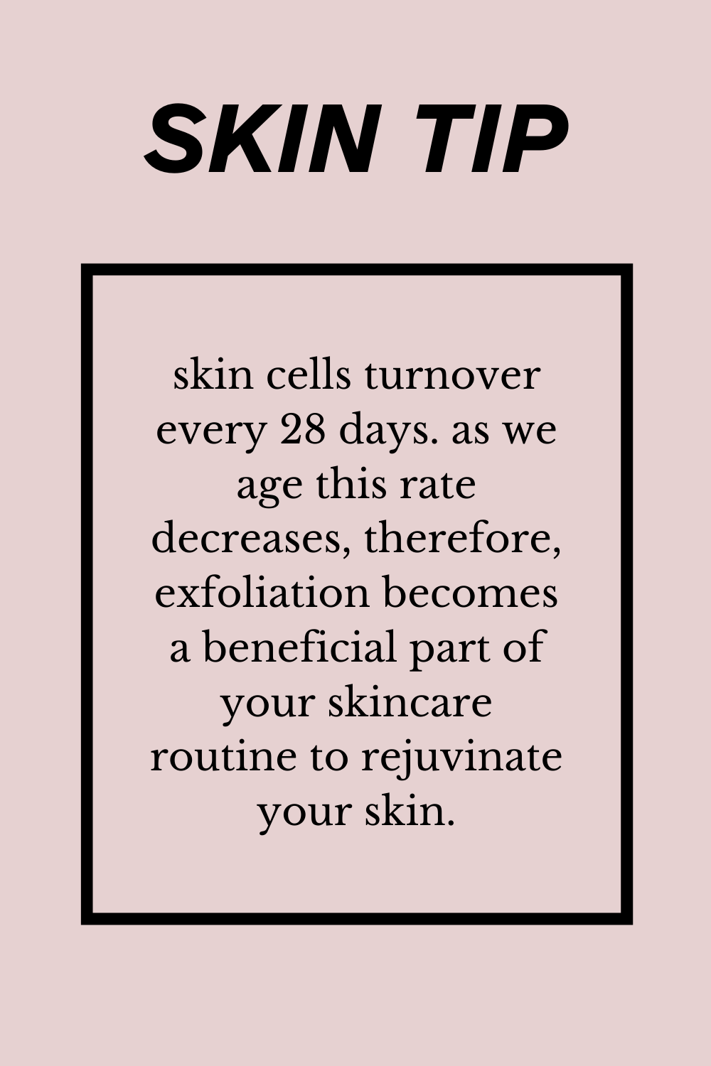 Tips for clear skin!