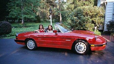 1990 Alfa Romeo Spider Quadrifoglio Alfa Romeo Spider Alfa Romeo Amazing Cars