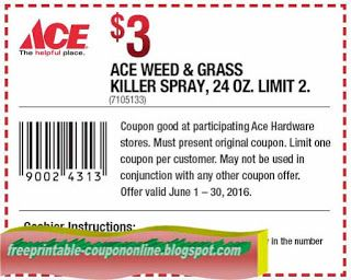 image regarding Ace Hardware Printable Coupons known as Absolutely free Printable Ace Components Coupon codes Printable Discount codes June