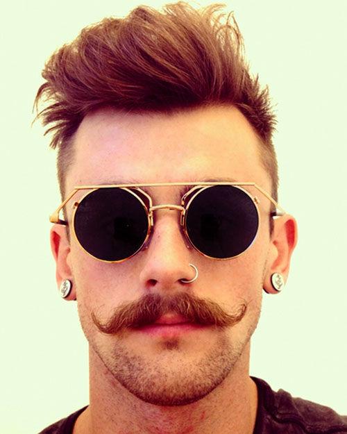 Steampunk Schnurrbart Manner Hipster Haarschnitte Schnurrbart