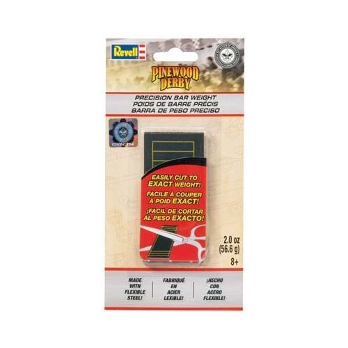 RMXY9420 - Revell Pinewood Derby Precision Weights Flat 2oz