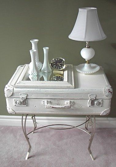 Vintage Suitcase Upcycle - Dig This Design