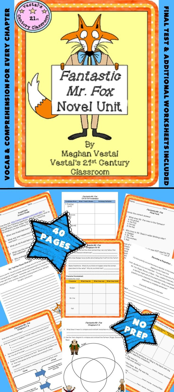 Fantastic Mr. Fox 5 Vestal's 21st Century Classroom