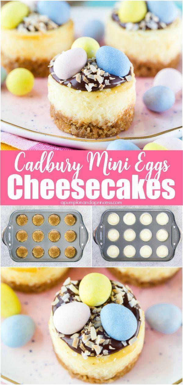 Photo of Cadbury Mini Eggs Cheesecake