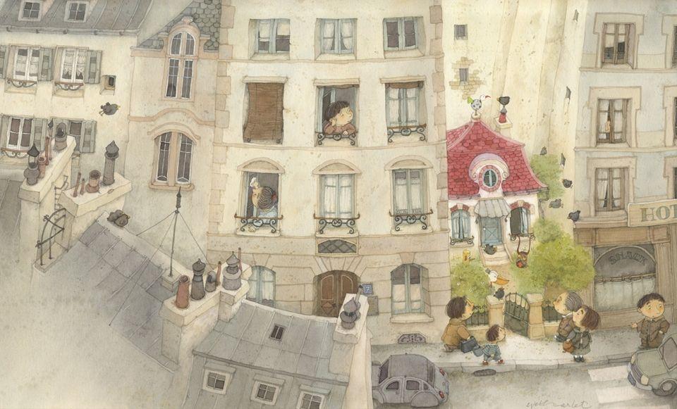Eve Tharlet - Home