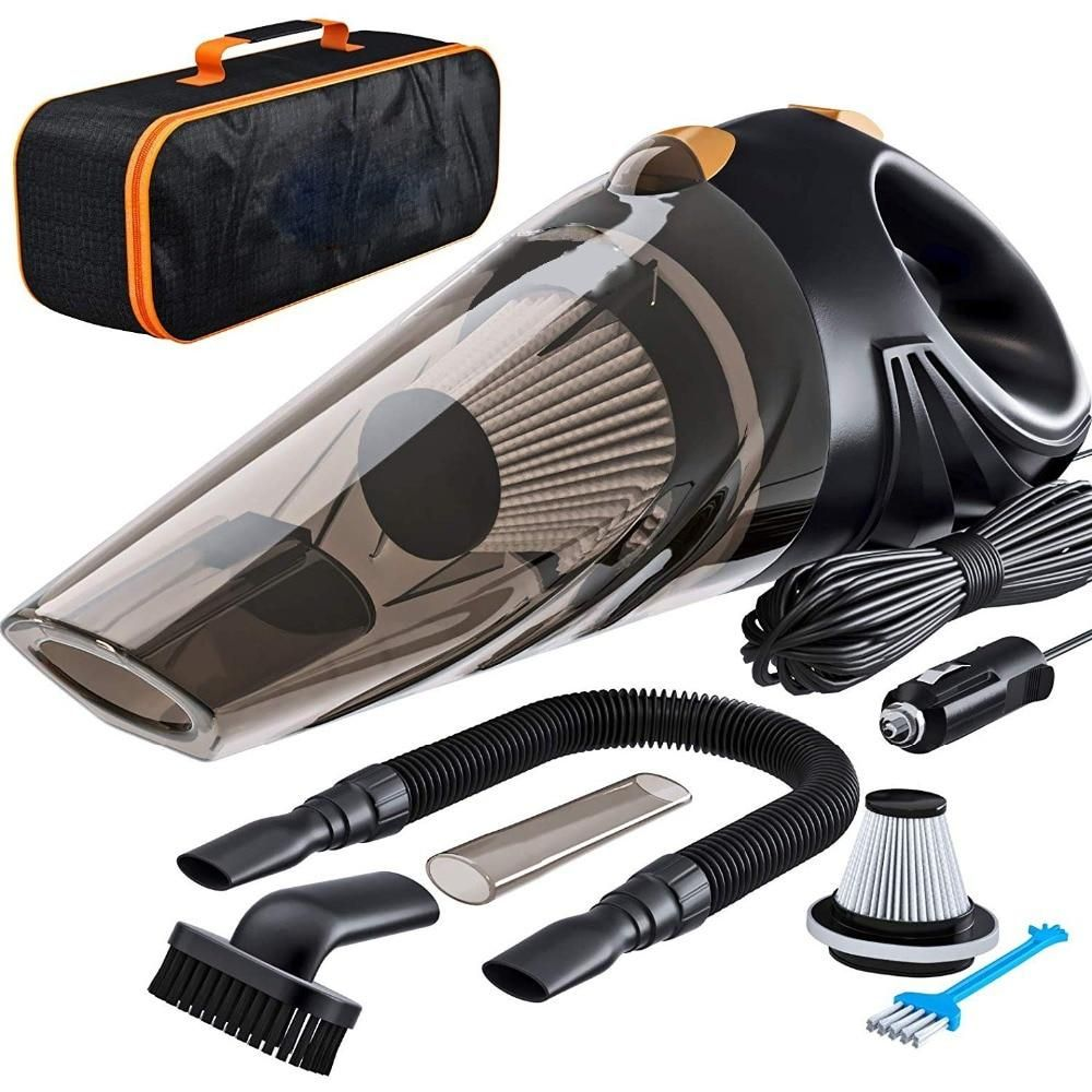 4800pa Strong Power Car Vacuum Cleaner Dc 12 Volt 120w With Handbag 4 8kpa Cyclonic Wet Dry Auto Portable Va Portable Vacuum Cleaner Car Vacuum Portable Vacuum