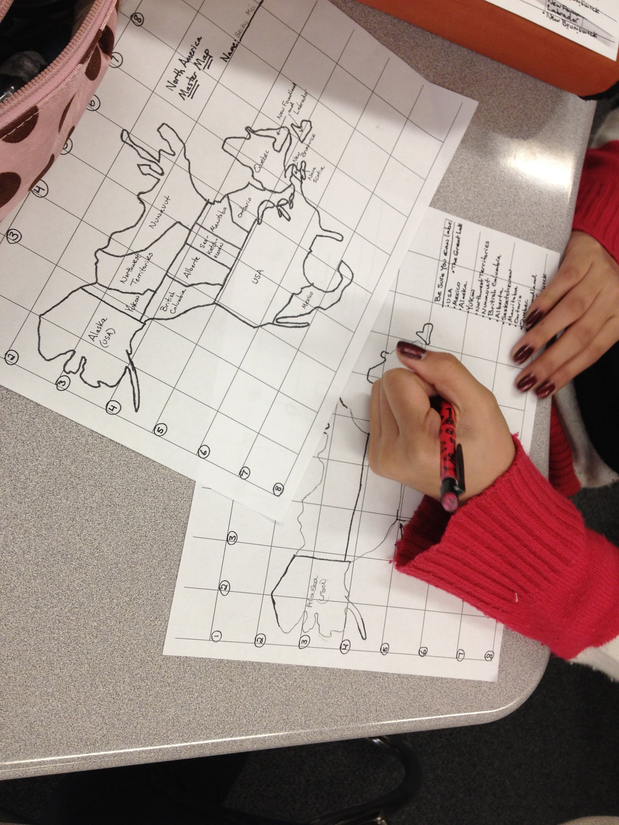 Practicing Mapping The World By Heart