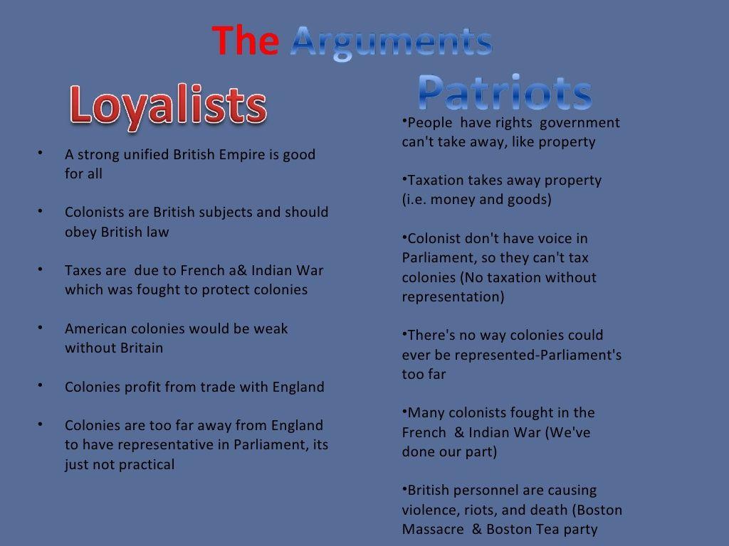 Loyalist Vs Patriots Third Grade Social Studies Homeschool Social Studies Social Studies Classroom
