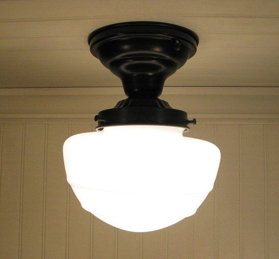 Flush Mount Glass Ceiling Light Fixture Mushroom Style Etsy Glass Ceiling Lights Ceiling Lights Ceiling Light Fixtures