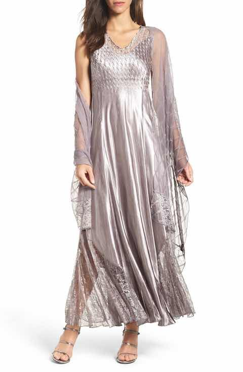 Komarov Maxi Dress Shawl Regular Petite Sam Dresses Dress