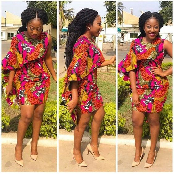 9d00a30f33e4 Top Ten African Print Dresses and Styles that will trend in 2018 -  DabonkeFacebookTwitterPrintEmailAddthisFacebookTwitterPrintEmailAddthis