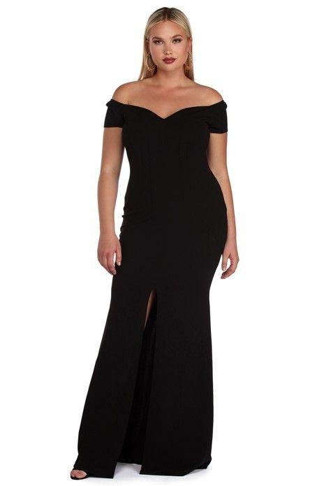 Plus Roxy Black Sweetheart Dress   Sweetheart dress, Roxy and Formal