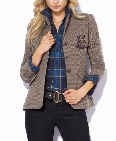 plaid puffer vest ralph lauren women - Google Search #ralphlaurenwomensclothing