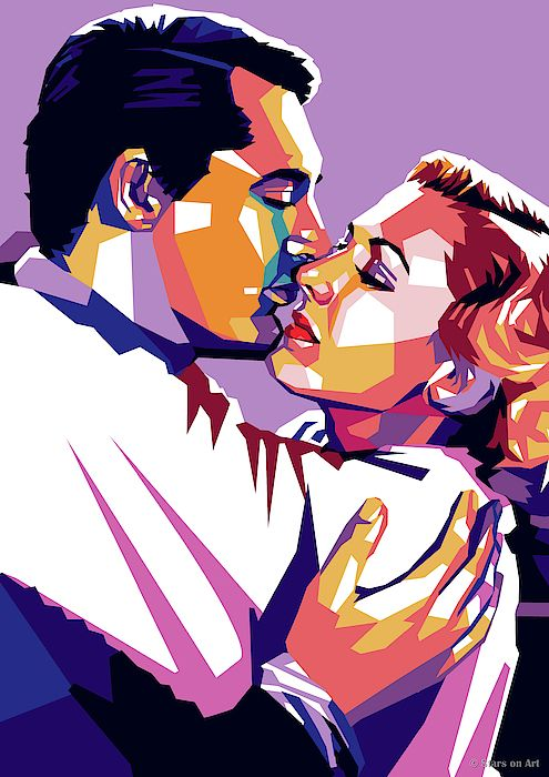 Cary Grant And Jean Arthur in 2020 Art, Pop art