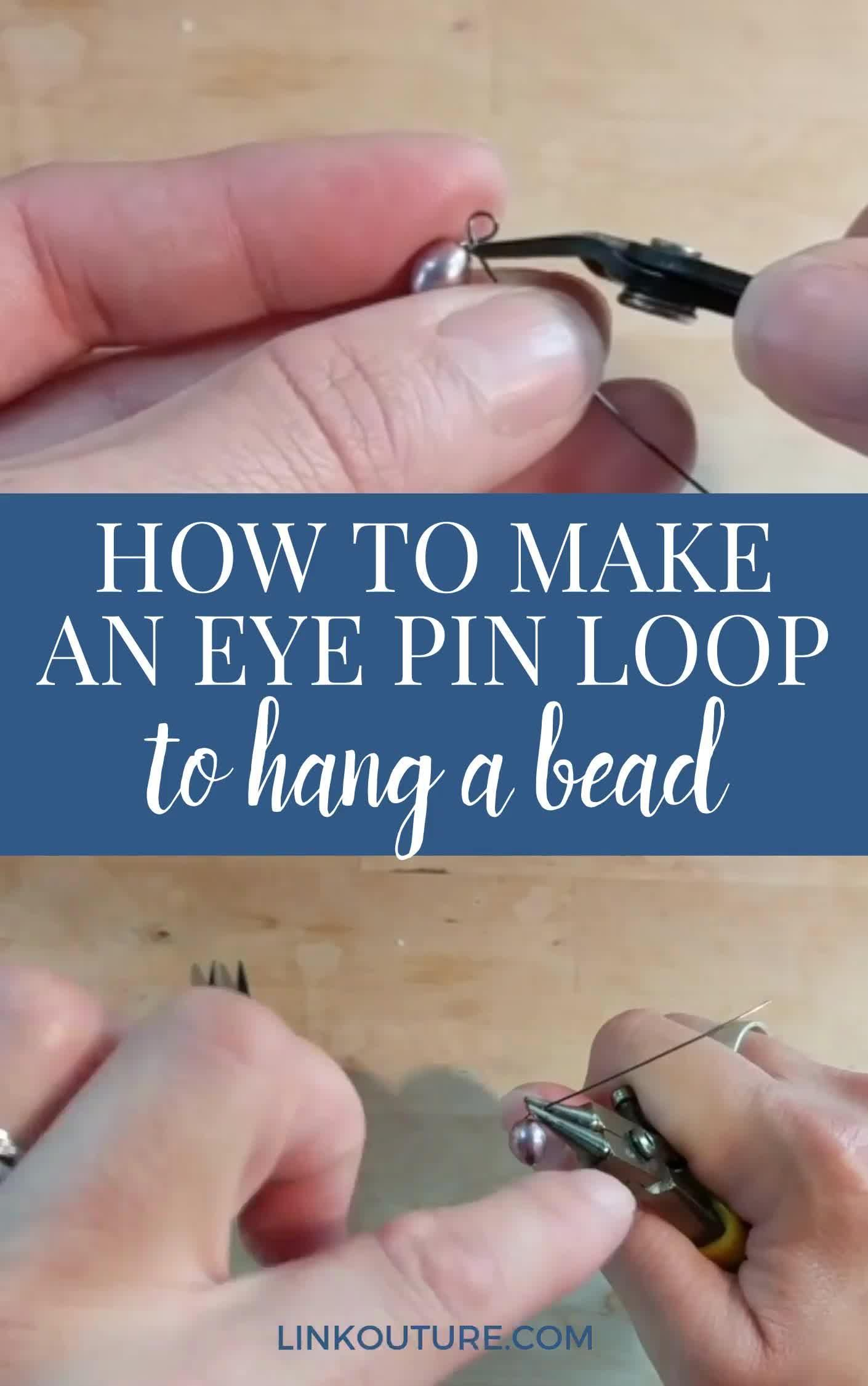 Photo of How to make a simple wire loop for jewelry