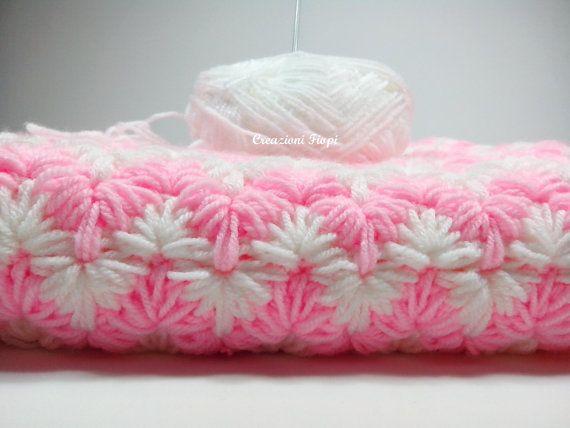 Crochet PATTERN Baby Blanket/crochet zig zag by CreazioniFiopi ...