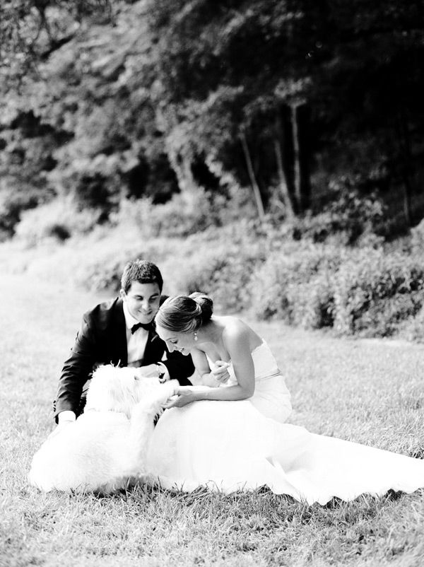 Summer Wedding at The Ryland Inn | Photography by, Lindsay Madden Photography | Dress by, Jim Hjelm