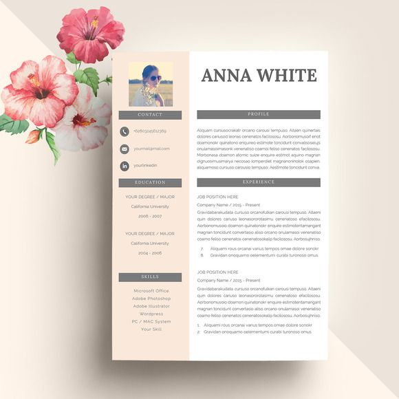 Professional Resume Template @CleanResume Executive Resume - executive resume templates word