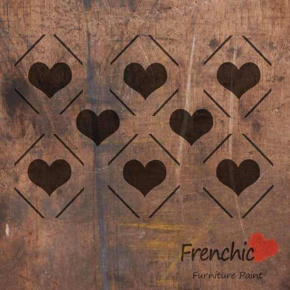 Diamond Hearts Alice Frenchic Chalk Paint Furniture