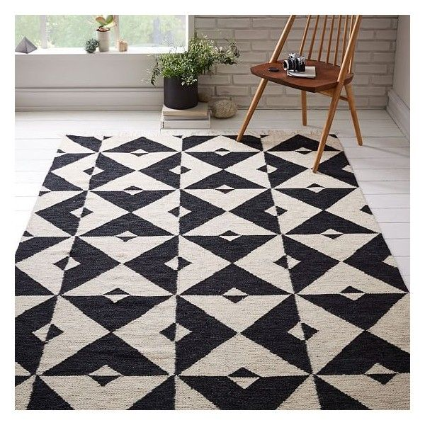 Our Graphic Tile Wool Dhurrie Rug Is Take On Clic Floor Tiles With A Geometric Pattern That Has Modern Art Feel Handwoven In India Fair