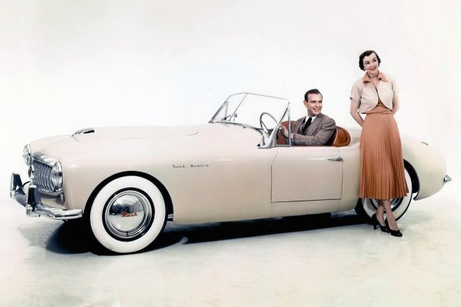 The Nash-Healey is a two-seat sports car that was produced for the American market between 1951 and 1954. Marketed by Nash-Kelvinator Corporation
