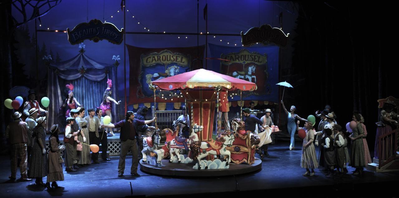 Landmark Musicals Carousel Gallery Carousel Scene Design Carousel Musical