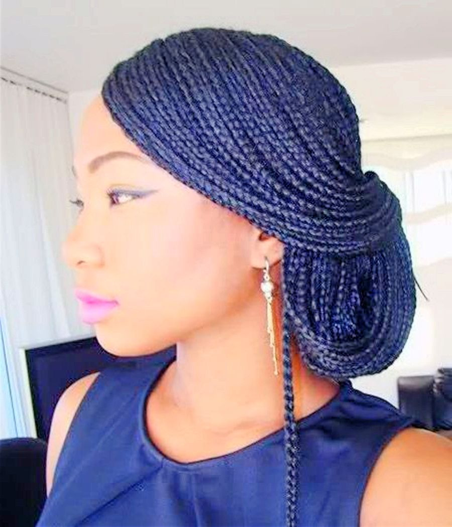 natural hair braid for black women | natural braided hairstyles