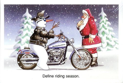 Motorcycle Christmas Cards Different Cards To Choose From With