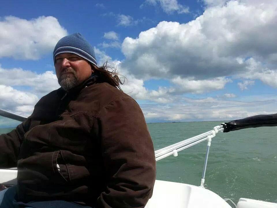 Ed reid of hazel park michigan is boating on lake st