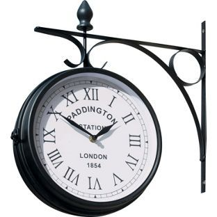 Paddington Outdoor Station Clock From Homebase Co Uk