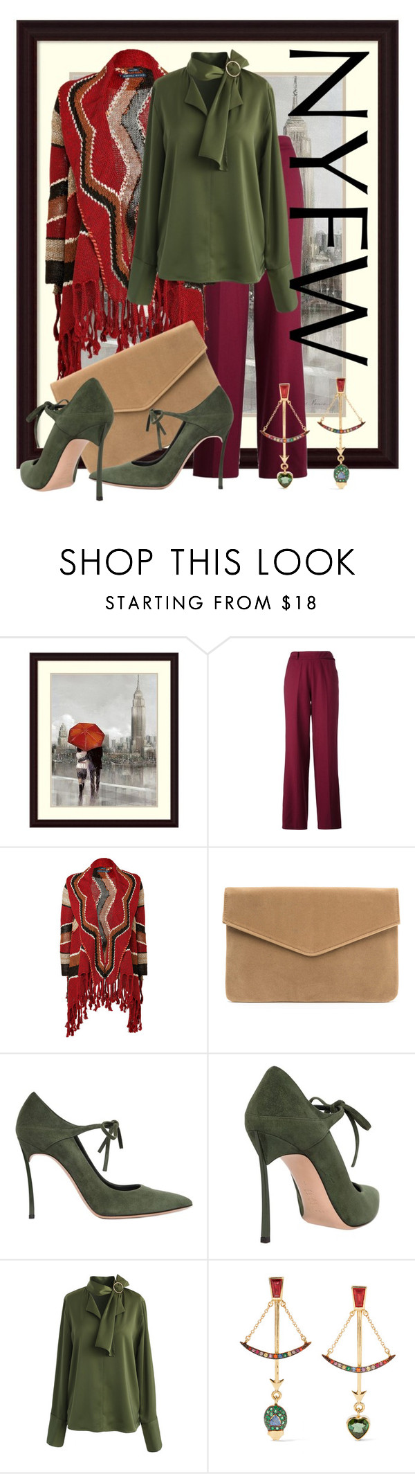 """""""Pack for NYFW contest"""" by benzin ❤ liked on Polyvore featuring Each X Other, Ralph Lauren Blue Label, Casadei, Chicwish and Daniela Villegas"""
