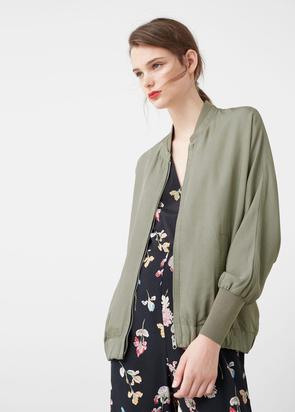 Jackets for women mango usa bomber pinterest fashion
