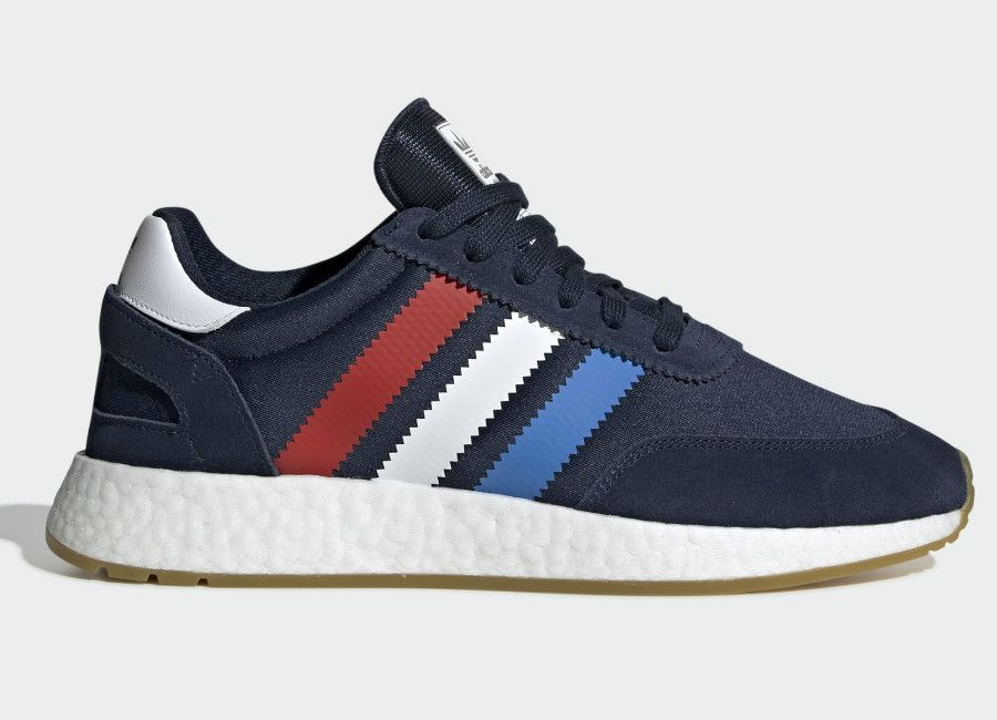 Adidas I 5923 Shoes Collegiate Navy Active Red True