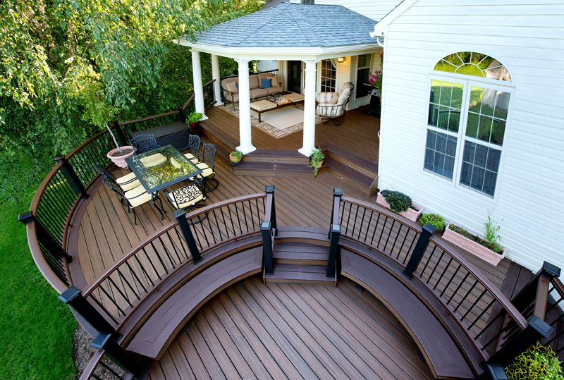 Diy Deck Building Construction Details : Amazing covered deck ideas to inspire you check it out