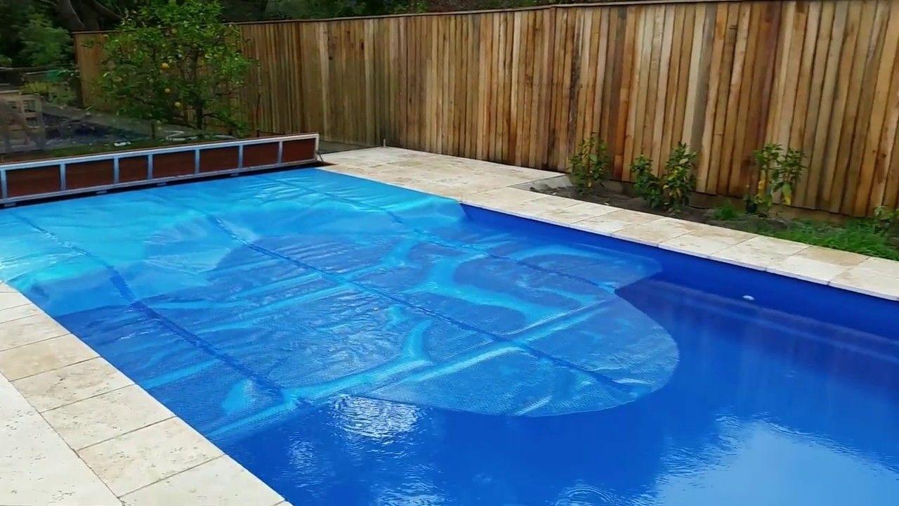 Aussie UnderCover® Roll In hidden under ground pool