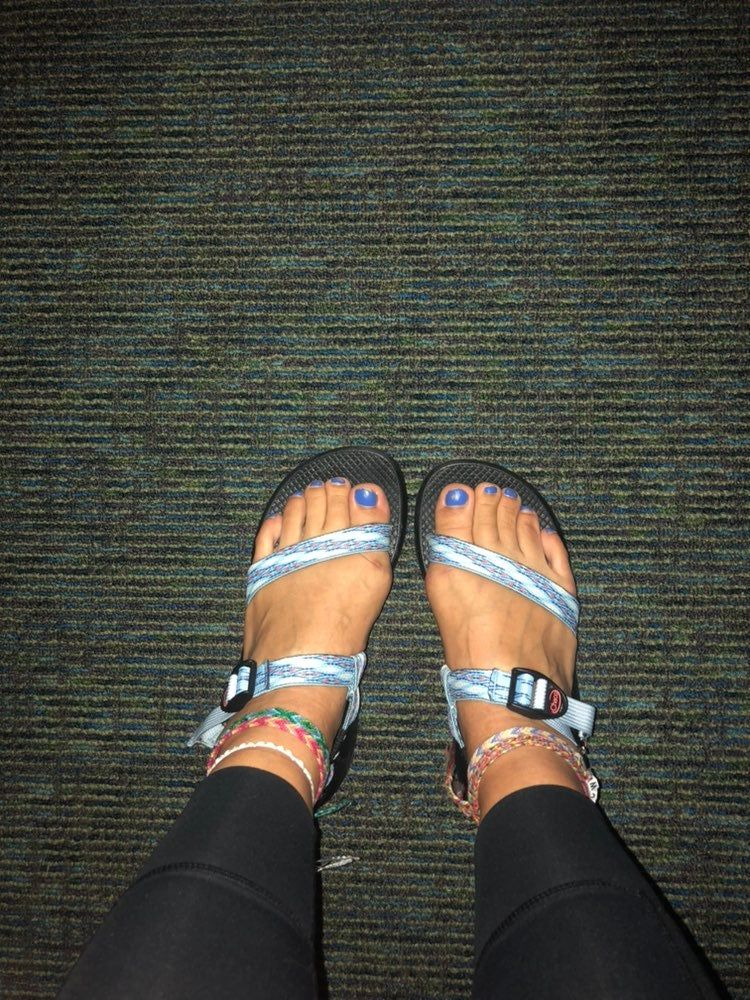 Chacos Z/2 Bluebell Pattern Size 10 on