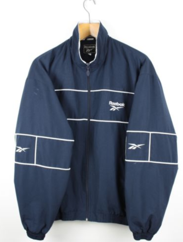1990s Reebok Windbreaker Jacket · Vintage Tracksuit · XL Reebok Rain Jacket · Vintage Reebok · Retro Windbreaker · Vintage Reebok Top · XL a4Uhu1jIZ