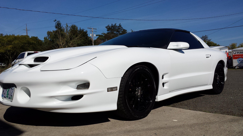 White pontiac firebird ws6