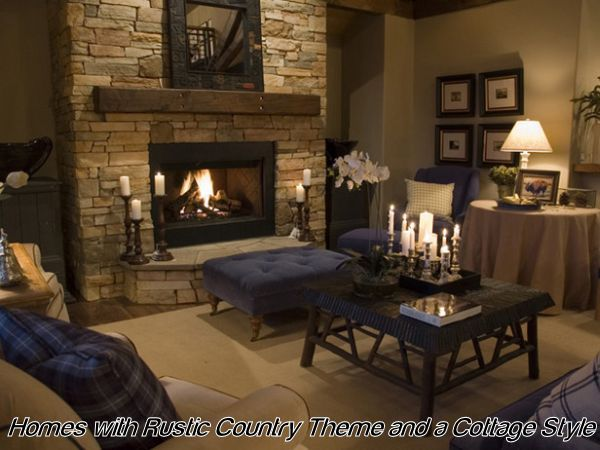 Blending Rustic And Cottagestyle In Home Dcor Cottage style