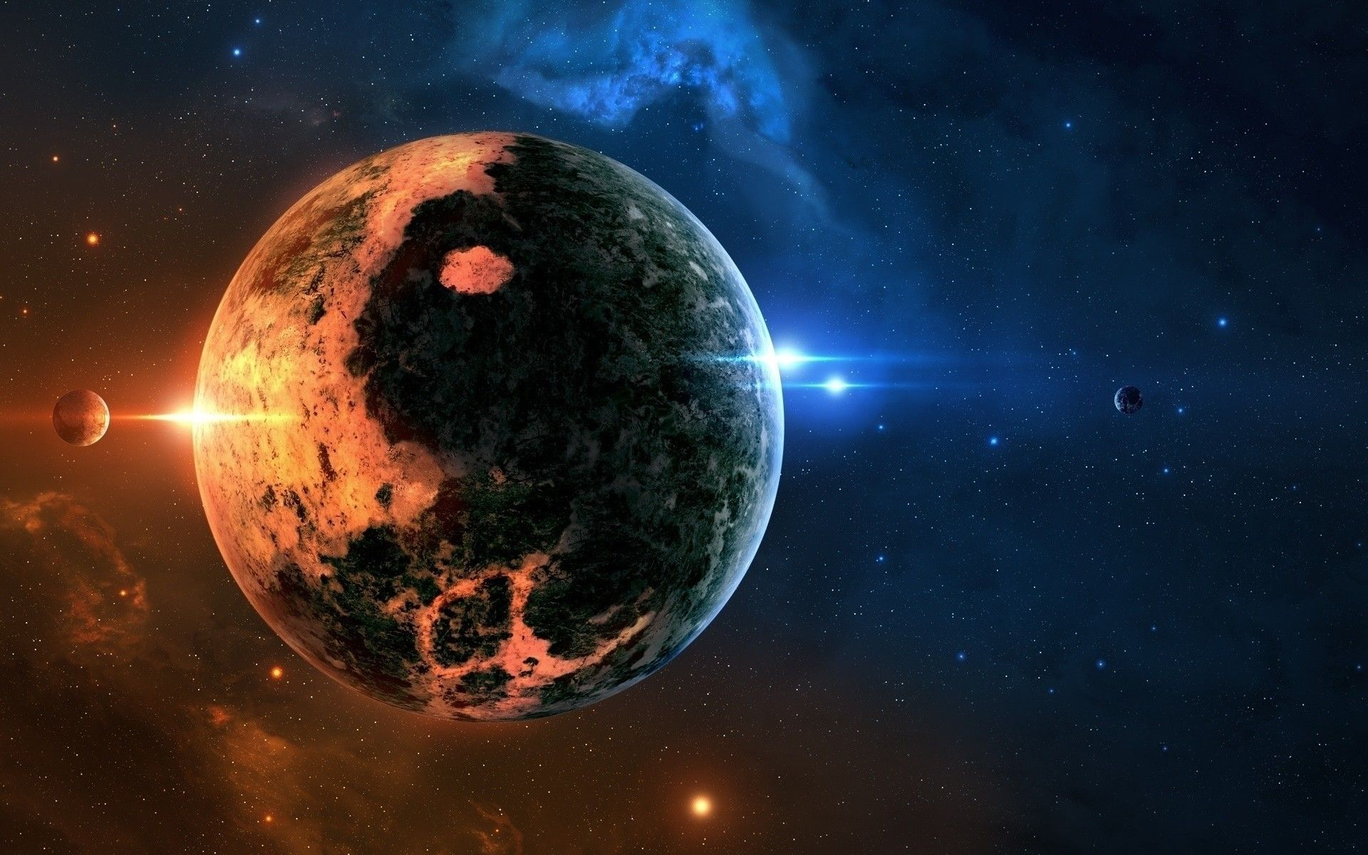 Real Outer Space Planets Pictures 5 HD Wallpapers