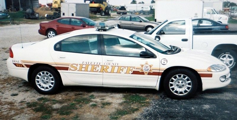 Fayette County Sheriff IL Emergency vehicles, Police