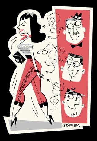 retro sticker by Derek Yaniger