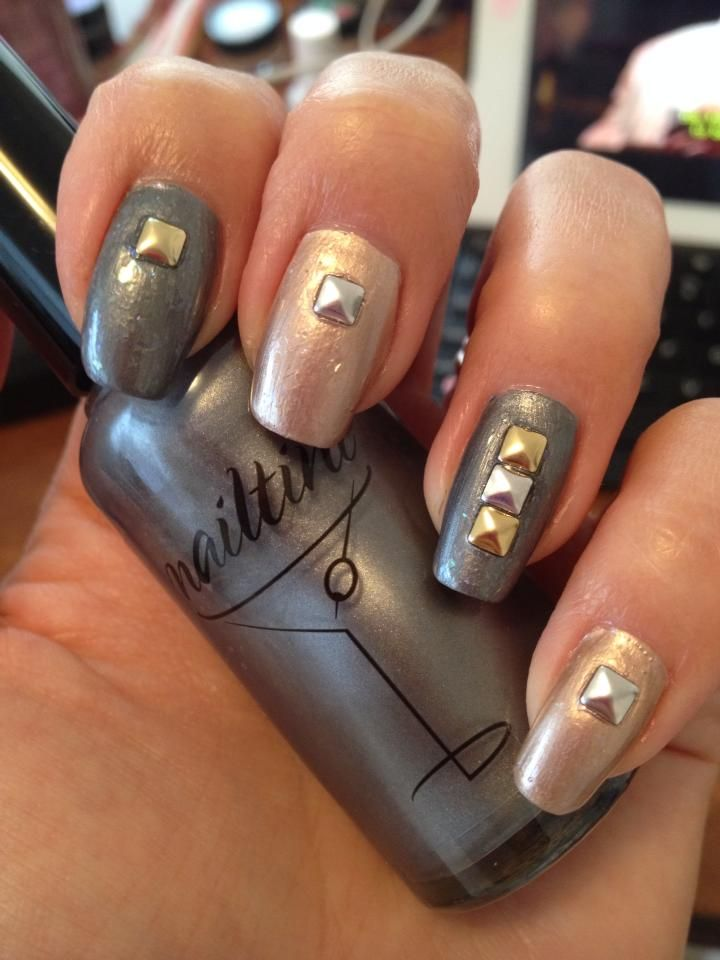 Look how incredibly talented our fan Dorene Moo Ramirez is! Get the look with Nailtini in Caviar Cocktail.
