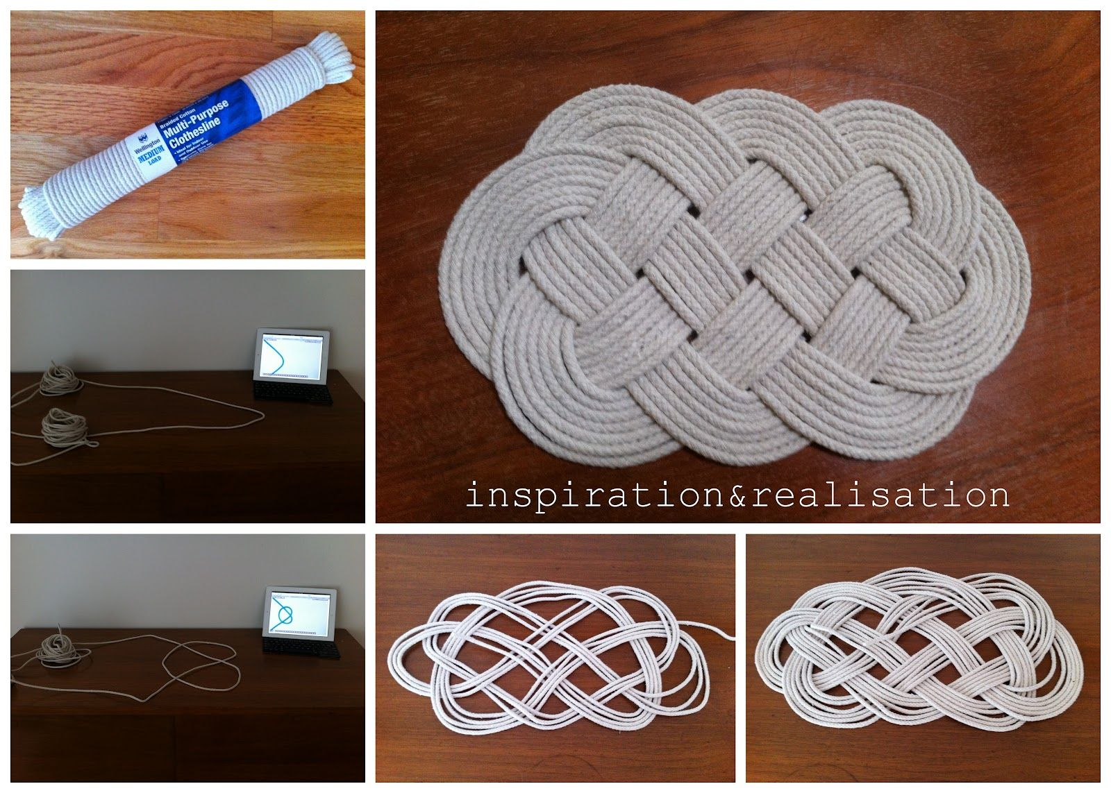 diy t shirt rug instructions | which thickness your rope has to be ...