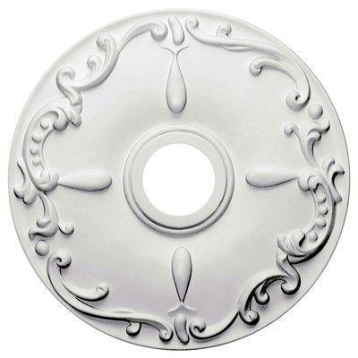"Ekena Millwork Kent 18""H x 18""W x 1.25""D Ceiling Medallion"