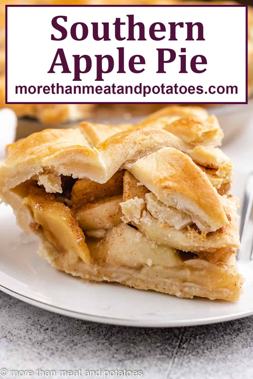 Southern Apple Pie Recipe Recipe Southern Apple Pie Apple Pie Recipes Apple Pie