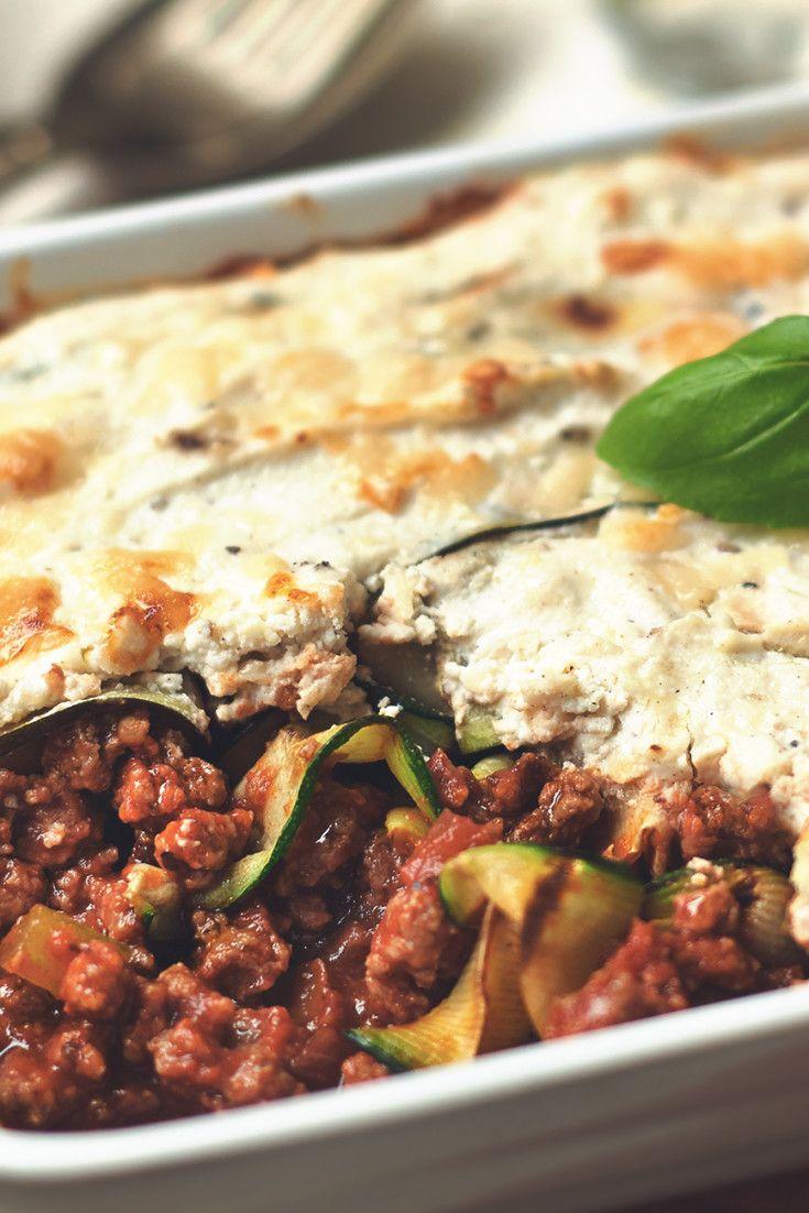Zucchini And Quorn Grounds Lasagna Recipe In 2020 Quorn